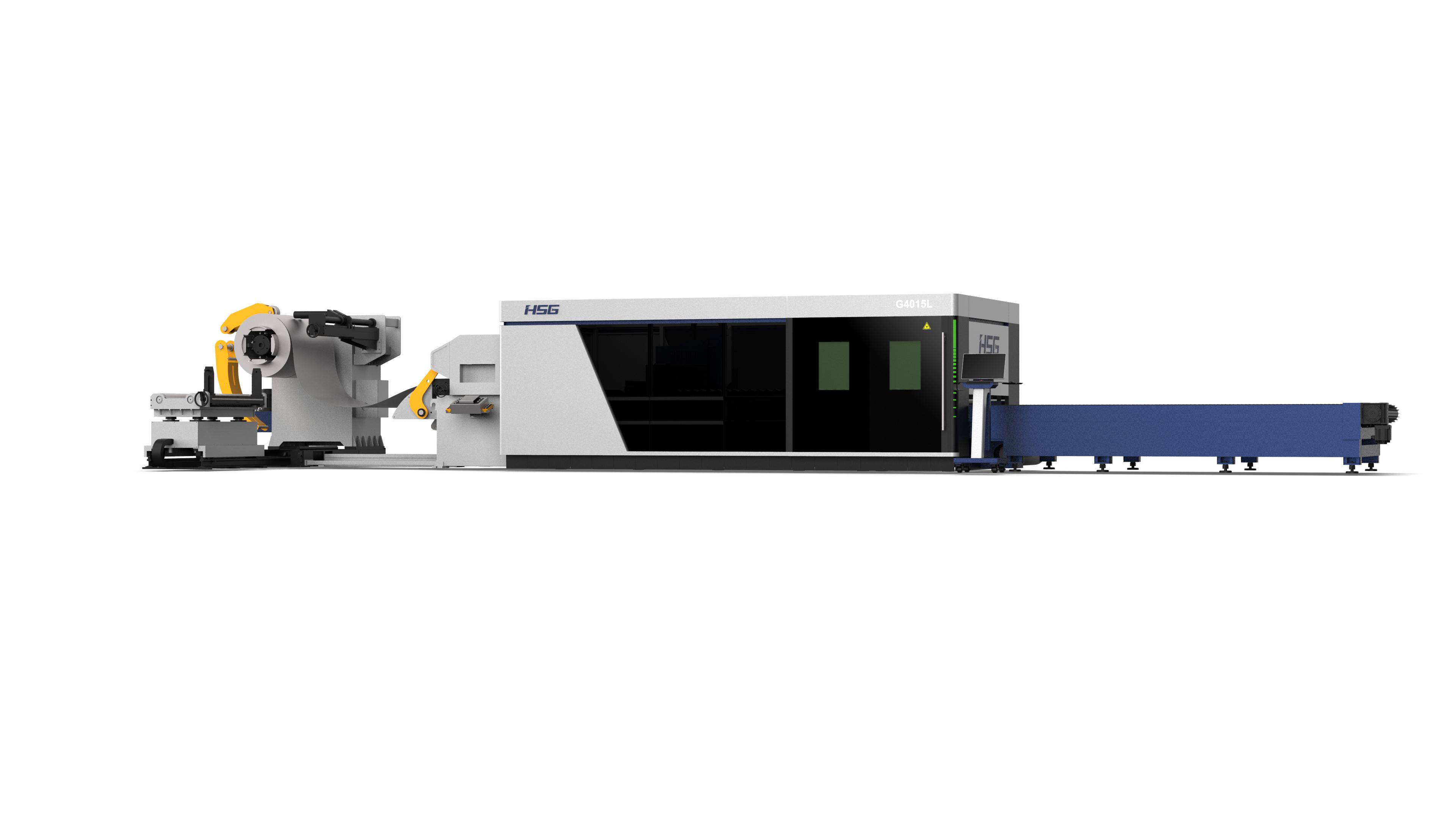 卷料激光切割机GL系列